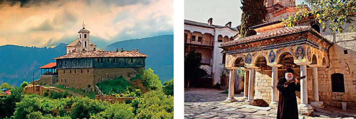 Bulgarian Monasteries | History & culture round trips in Bulgaria, tailor-made tours in Bulgaria